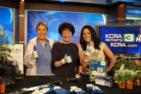 Blue Thumb Blogger with Mae Fesai of KCRA 3