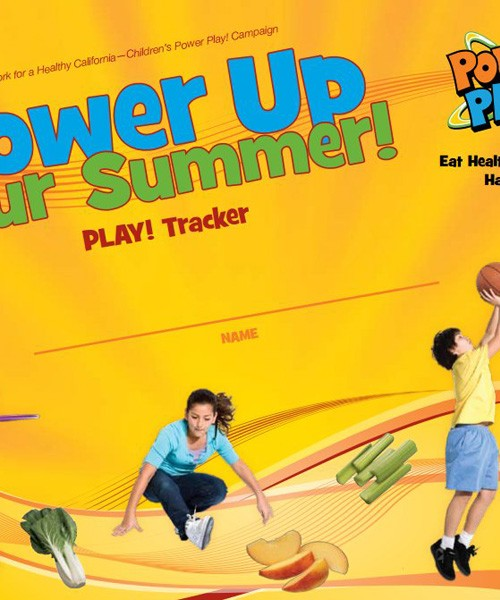 Power Up Your Summer Poster